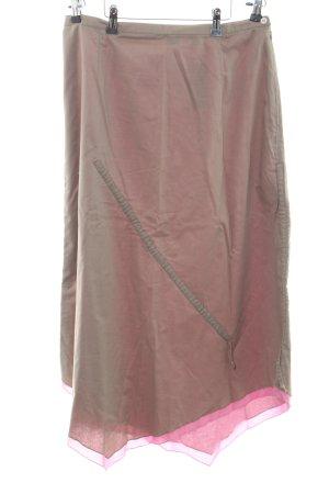 Olsen Glockenrock pink-bronzefarben Casual-Look