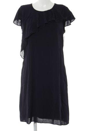 Olsen Kurzarmkleid dunkelblau Elegant