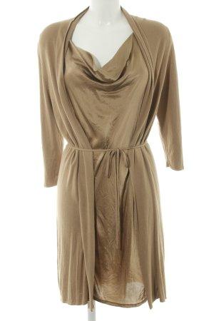 Olsen Long-Bluse bronzefarben Elegant