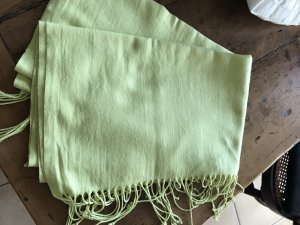Pashmina lime yellow