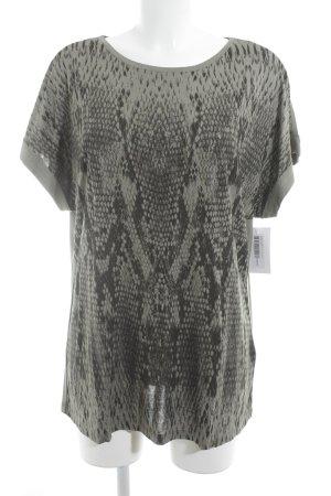 Olsen Print-Shirt Animalmuster Casual-Look