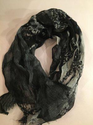 Olsen Zijden sjaal veelkleurig Gemengd weefsel
