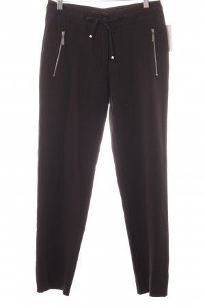 Olsen Stoffen broek zwart casual uitstraling