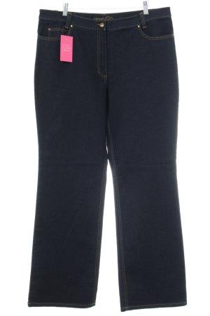 Olsen Straight-Leg Jeans schwarz Business-Look
