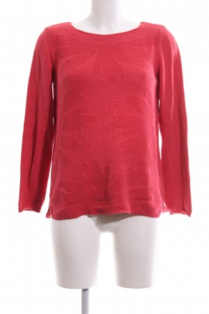 Olsen Strickpullover rot Casual-Look