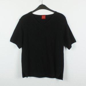 Olsen Camisa tejida negro tejido mezclado