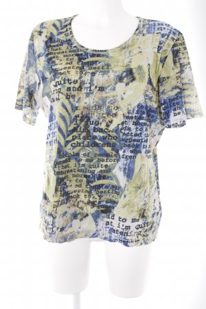 Olsen T-Shirt abstraktes Muster Casual-Look