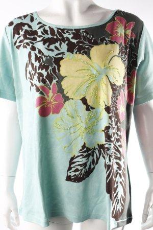 Olsen T-Shirt mit Blumenprint