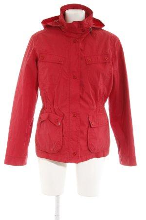 Olsen Übergangsjacke rot schlichter Stil