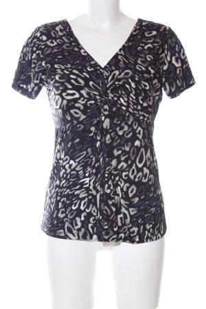 Olsen Wraparound Shirt allover print casual look
