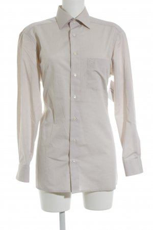 Olymp Hemd-Bluse hellbeige Business-Look