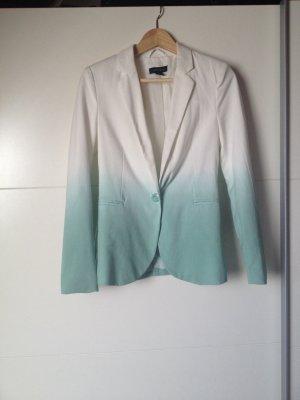 Ombré Blazer mit Farbverlauf, Anzugjacke, Sakko