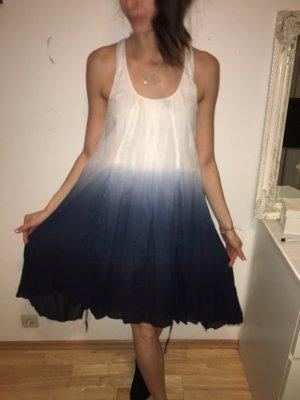 Sisley Vestito da spiaggia bianco-blu scuro
