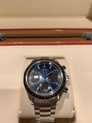 Omega Reloj automático gris-azul
