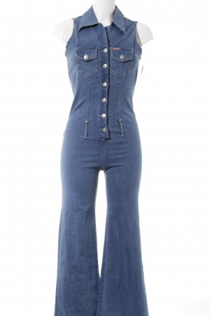 On Line Jumpsuit kornblumenblau Street-Fashion-Look