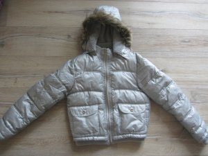 One and One - Silber farbene tolle Winterjacke Gr. 164