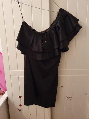 one arm black dress decjuba new zealand