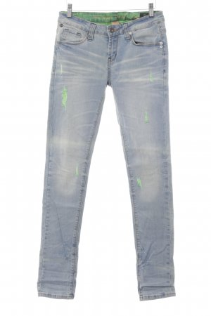 One green elephant 7/8 Jeans hellblau-blassblau Jeans-Optik