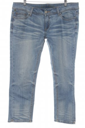 One green elephant Jeans a 7/8 blu fiordaliso stile casual