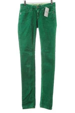 One green elephant Cordhose grün Retro-Look