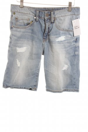 One green elephant Jeansshorts blau Casual-Look