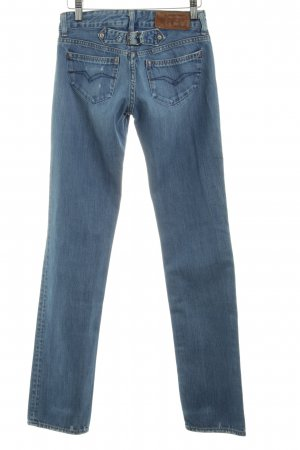 One green elephant Tube Jeans blue color gradient casual look