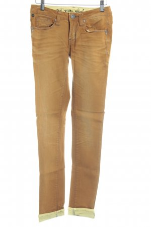 One green elephant Röhrenjeans camel Casual-Look