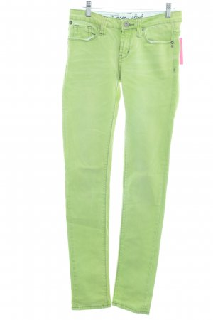 One green elephant Röhrenjeans hellgrün Casual-Look