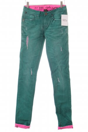 One green elephant Röhrenjeans waldgrün Casual-Look