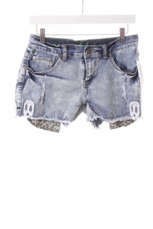 One green elephant Shorts Leomuster Destroy-Optik