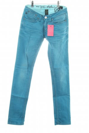 One green elephant Skinny Jeans türkis Casual-Look