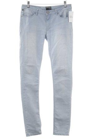 One green elephant Skinny Jeans himmelblau schlichter Stil
