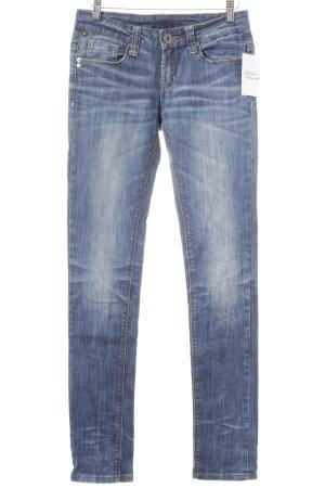 One green elephant Skinny Jeans kornblumenblau Casual-Look