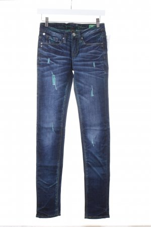 "One green elephant Skinny Jeans ""Kosai"""