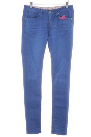 "One green elephant Skinny Jeans ""Kosai"" blau"