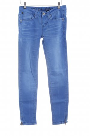 One green elephant Skinny Jeans neonblau Casual-Look