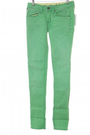 One green elephant Skinny Jeans neongrün Casual-Look
