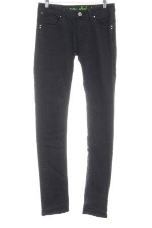 One green elephant Skinny Jeans schwarz schlichter Stil