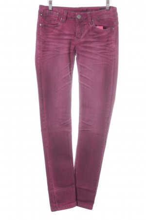 One green elephant Skinny Jeans violett Casual-Look