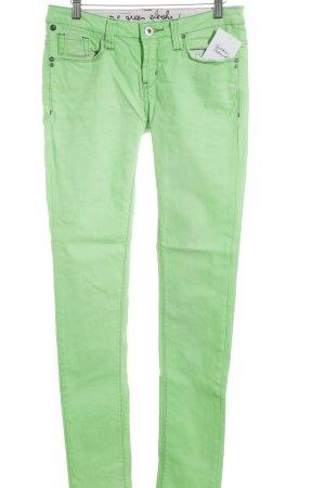 One green elephant Skinny Jeans wiesengrün extravaganter Stil
