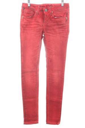 One green elephant Slim Jeans rot Casual-Look