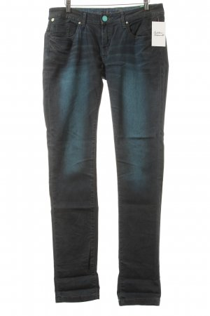 One green elephant Slim Jeans blau-himmelblau Farbverlauf Casual-Look