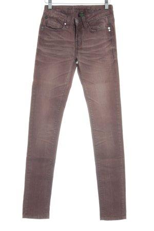 One green elephant Slim Jeans braun Hippie-Look