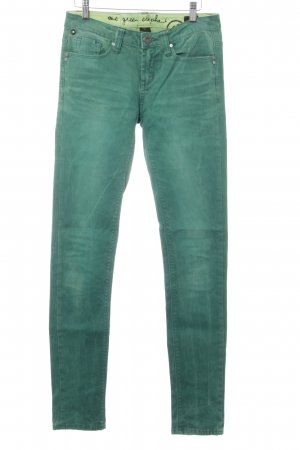 One green elephant Slim Jeans grün Casual-Look