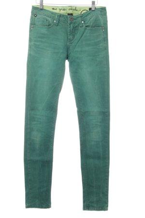 One green elephant Slim Jeans grün Casual-Look
