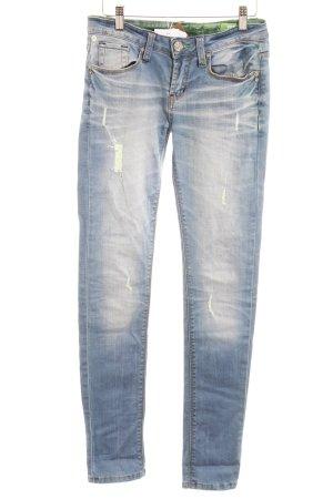 One green elephant Jeans slim multicolore style décontracté