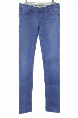 One green elephant Slim Jeans neonblau Casual-Look