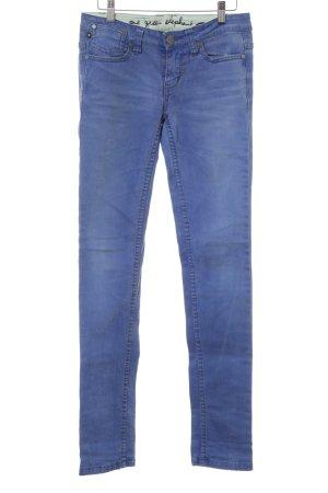One green elephant Jeans slim bleu fluo style décontracté