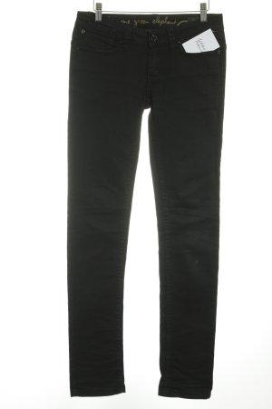 One green elephant Slim Jeans schwarz Casual-Look