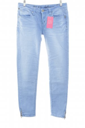 One green elephant Straight-Leg Jeans blau Casual-Look